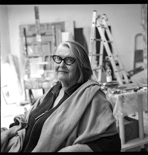 Rosina Kuhn, Künstlerin, Zürich 2014